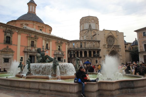 Plaza de la Virgen (Valencia, Spagna)