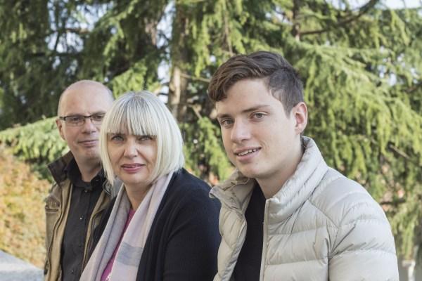 Riccardo, Elisabetta e Stefano di In Viaggio con Ricky