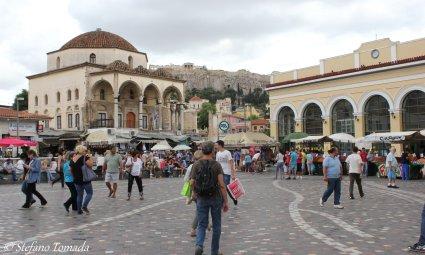 Moschea Tzistarakis in piazza Monastiraki (Atene, Grecia)