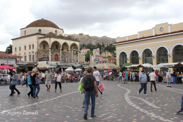 Viaggio ad Atene, Moschea Tzistarakis in piazza Monastiraki (Grecia)
