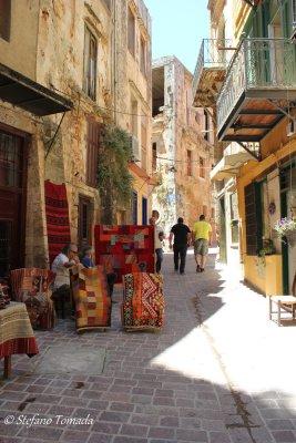 Passeggiando per i vicoli di Chania (Creta, Grecia)