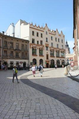 Viaggio a Cracovia, Plac Mariacki nel cuore della città vecchia (Polonia)