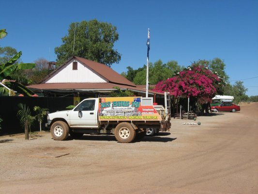 Viaggio in Australia, il pub di Daly Waters (Northern Territory)