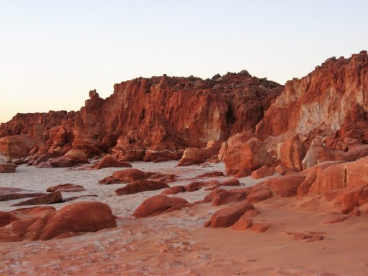 Viaggio in Australia, le Red Cliffs a Cape Leveque (Western Australia)