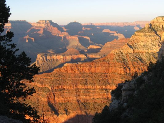Tramonto da Mather Point (Grand Canyon, Stati Uniti)