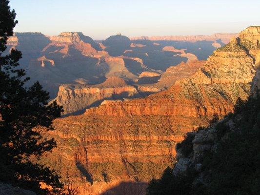 Tramonto da Mather Point (Grand Canyon, Stati Uniti)