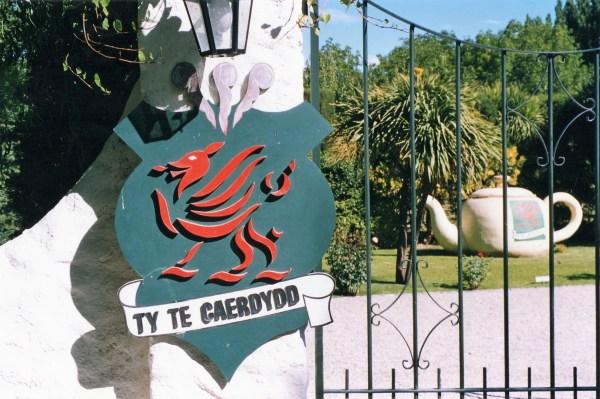 Ingresso della Ty te Caerdydd a Gaiman in Argentina