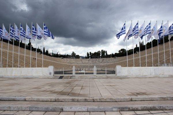 Viaggio ad Atene, vecchio stadio Panathinaiko (Grecia)