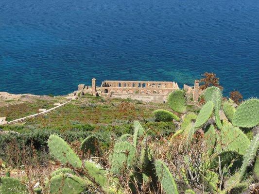 Viaggio in Sardegna, rovine della laveria Lamarmora (Italia)
