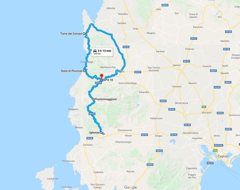 Cartina Sardegna Buggerru.Costa Verde Ed Iglesiente Spiagge E Natura Selvaggia In Viaggio Con Ricky