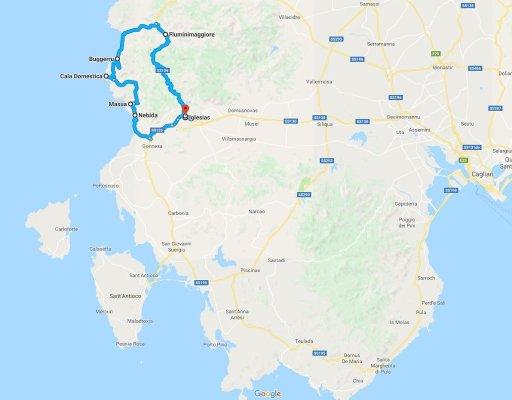 Mappa Iglesiente