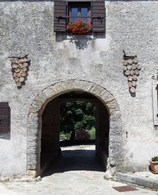 Gračišće Gallignana Istria Porta ingresso