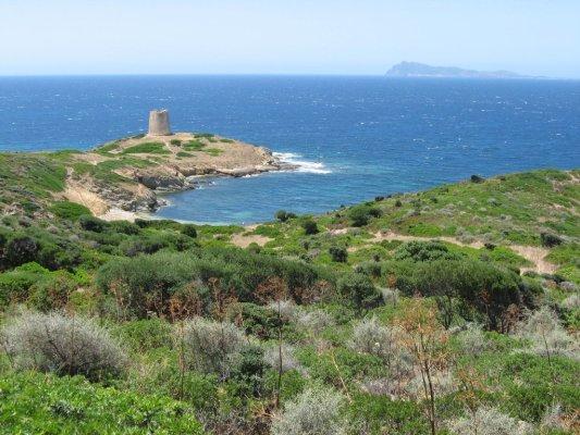 Capo Malfatano torre Sardegna