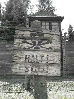 Camp Auschwitz segnaletica
