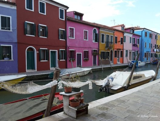 Canale Burano nasse
