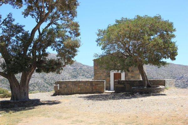 Chiesetta Análipsis salita monte Psilorítis Creta