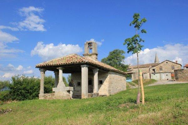 Chiesa San Rocco Draguć Istria