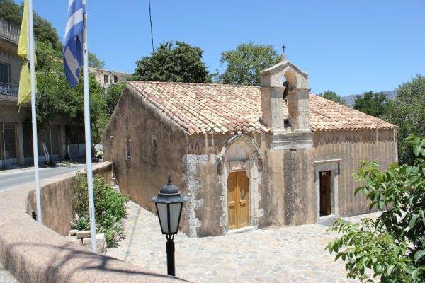 Chiesa Vergine Panagia Méronas Creta