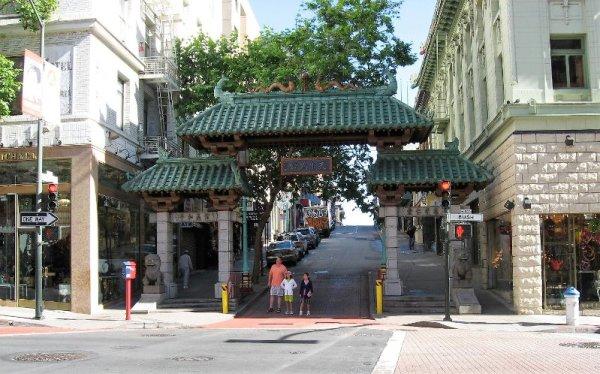 Porta accesso Chinatown San Francisco