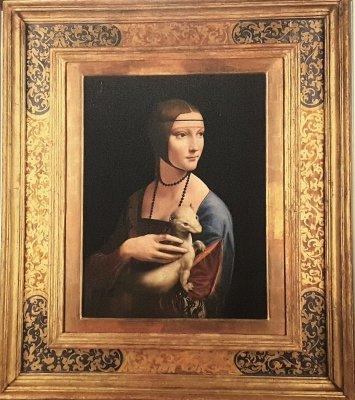 Dama Ermellino Leonardo Da Vinci