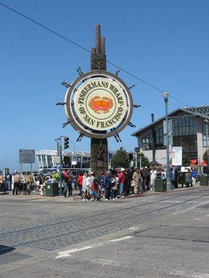 Ingresso Fisherman's Wharf San Francisco