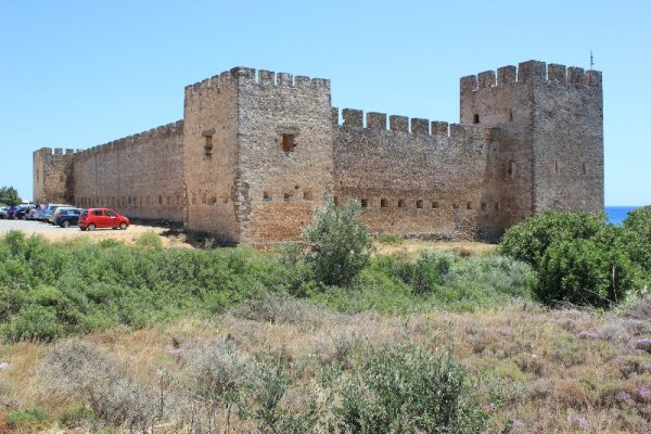 Rovine castello Frangokástello Creta