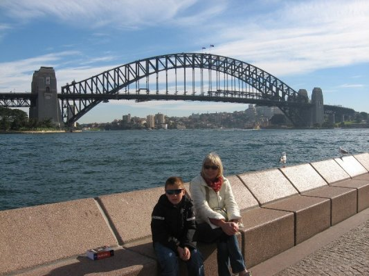 L'Harbour Bridge di Sydney