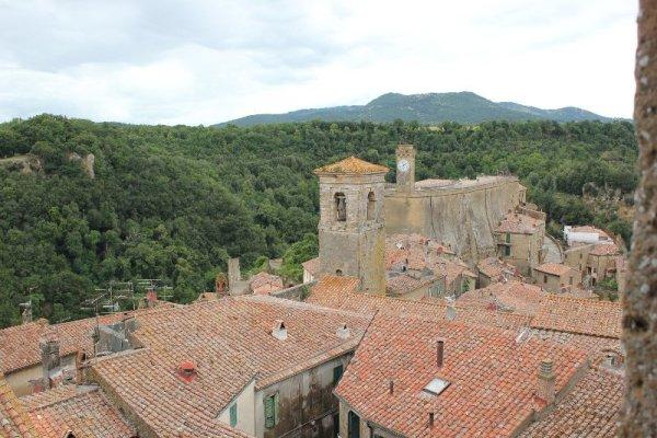 Fortezza Orsini Sorano Maremma