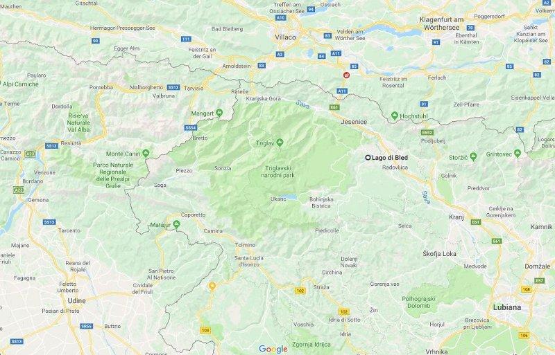 Cartina Turistica Slovenia.Cosa Vedere A Bled Il Luogo Piu Romantico Della Slovenia In Viaggio Con Ricky