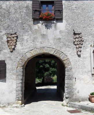 Porta ingresso Gračišće Gallignana