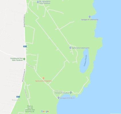 Mappa Riserva Vendicari