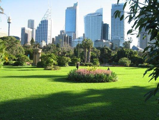 I Royal Botanic Gardens a Sydney