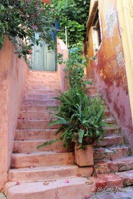 Scale esterne abitazioni Chania