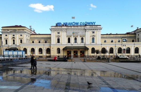 Stazione treni Cracovia