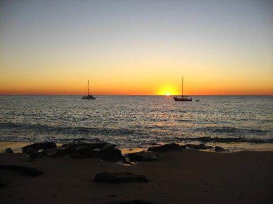 Tramonto Cape Leveque Australia