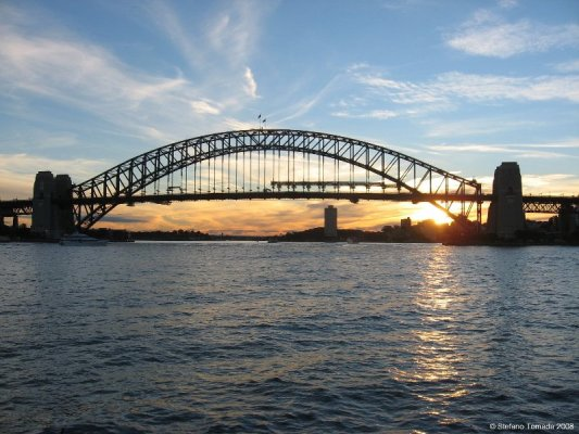 Tramonto Harbour Bridge Sydney