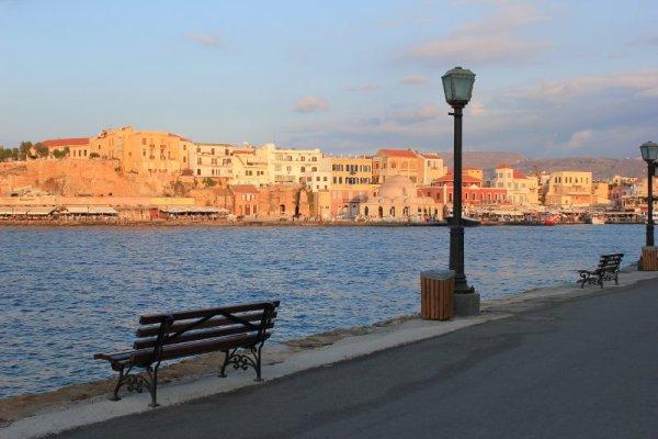 Tramonto porto veneziano Chania