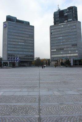 Palazzi piazza Repubblica Lubiana
