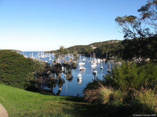 La baia di Manly nei pressi di Sydney in Australia