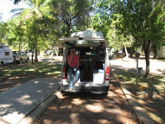 Campsite Katherine Australia