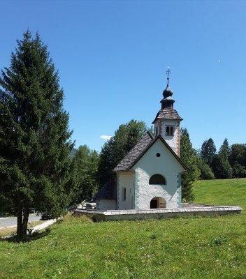 chiesetta Santo Spirito lago Bohinj