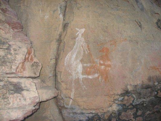 Incisioni rupestri Nourlangie Rock Australia
