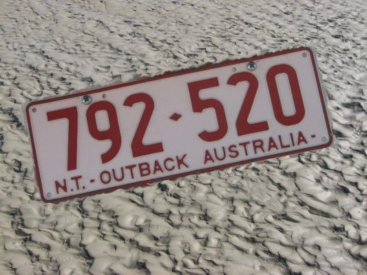 Targa auto Northern Territory