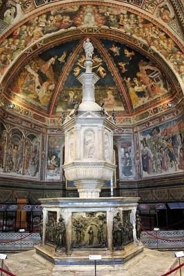 Battistero San Giovanni Duomo Siena