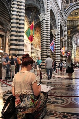 Interno Duomo Siena