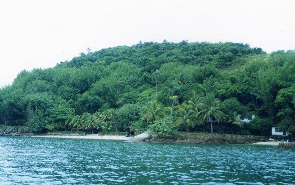 isola tropicale Itacuruçà Brasile