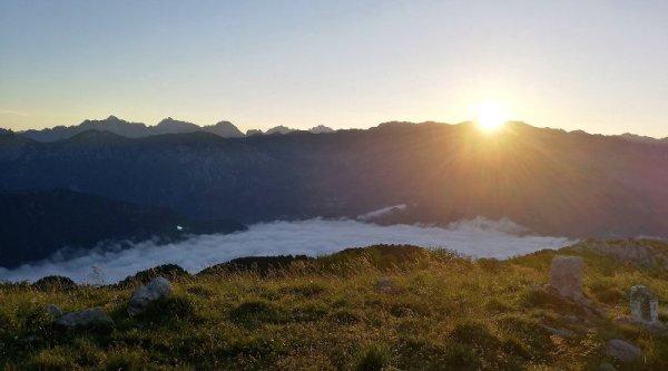 Alba sul Monte Matajur