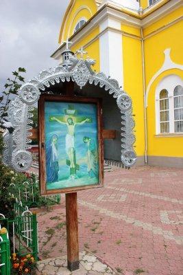 Icona religiosa a Comrat Gagaùzia
