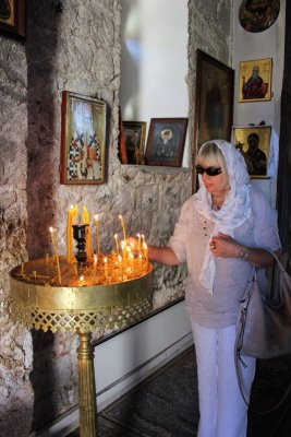 Interno Monastero ortodosso Tvrdoš