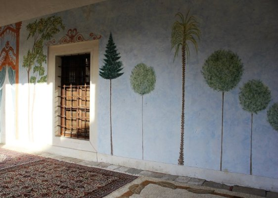 Dipinti facciata Moschea Čaršija Stolac Bosnia Erzegovina